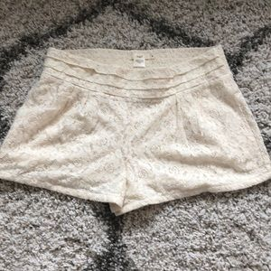 Urban Outfitters lace Shorts!